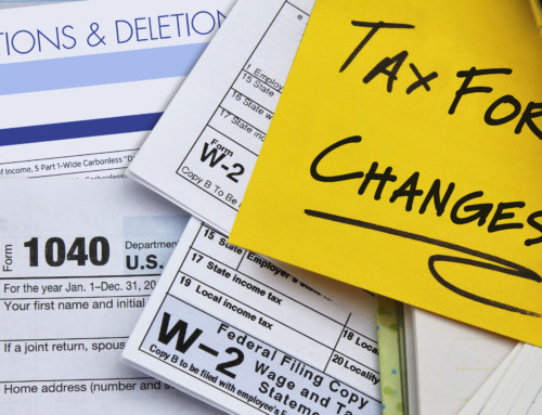 2019 Tax Form Changes